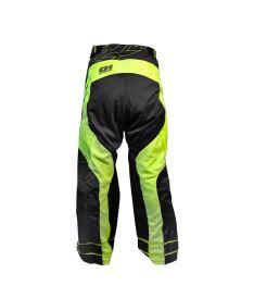 Brankářské florbalové kalhoty EXEL G1 GOALIE PANTS black/yellow  XS* - Brankářské kalhoty