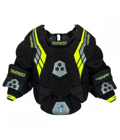 CHEST & ARMS PROTECTOR VAUGHN VELOCITY VE8 PRO black/lime/silver senior - XL