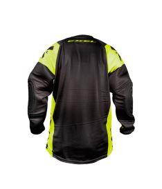 Brankářská florbalová vesta EXEL G2 GOALIE PROTECTION JERSEY black/yellow  XXL - Chrániče a vesty