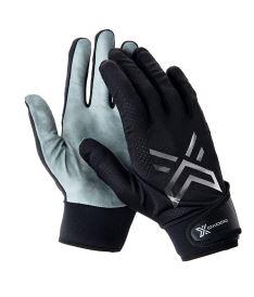 Floorball goalie gloves OXDOG XGUARD PRO GOALIE GLOVE SKIN Black