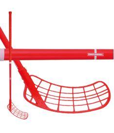 Floorball stick ZONE STICK SUPREME AIR SL 27 red:est 104cm