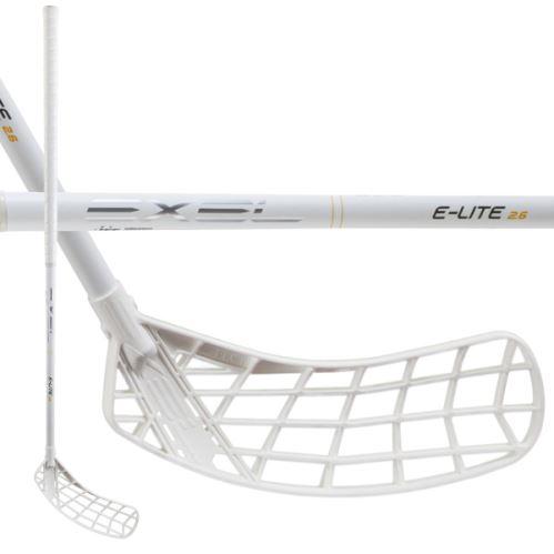 EXEL E-LITE WHITE 2.6 101 ROUND MB R - florbalová hůl