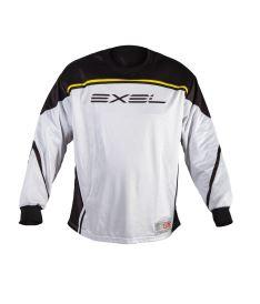 Brankářský florbalový dres EXEL ELITE GOALIE JERSEY white