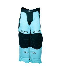 Hosen für Floorballgoalies OXDOG TOUR GOALIE PANTS tiff blue 150/160