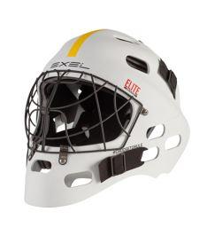 Floorball goalie mask EXEL ELITE HELMET senior/junior white