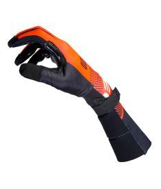 EXEL S100 GOALIE GLOVES LONG orange/black 11/XXL - Brankařské rukavice