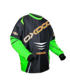 Brankářský florbalový dres OXDOG GATE GOALIE SHIRT senior black/green