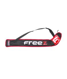Florbalová taška FREEZ Z-80 STICKBAG BLACK/RED  87cm