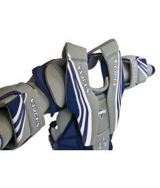 VAUGHN CHEST & ARMS VENTUS SLR PRO blue/silver/white senior - M - Arm + chest