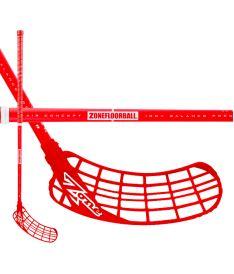 Floorball stick ZONE STICK ZUPER AIR 31 red 92cm