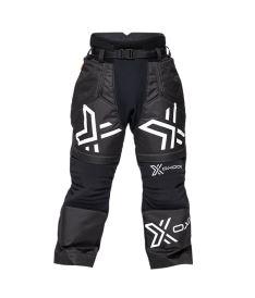 Floorball goalie pant OXDOG XGUARD GOALIE PANTS black/white 150/160
