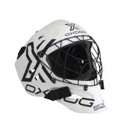 Unihockey Torwart Helme OXDOG XGUARD HELMET SR White