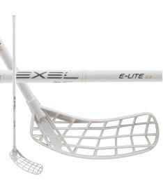 Florbalová hokejka EXEL E-LITE WHITE 2.9 MB