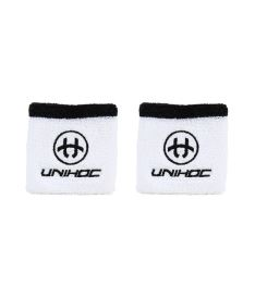 UNIHOC WRISTBAND SWEAT 2-pack white