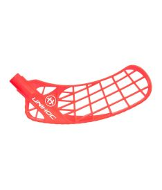 Floorball blade UNIHOC BLADE ICONIC medium neon red