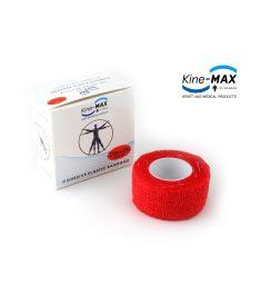 Kine-MAX Cohesive Elastic Bandage - Elastické samofixační obinadlo (kohezivní) 2,5cm x 4,5